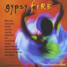 CDs de Música: OSCAR LOPEZ/J.L. ENCINAS/JESSE COOK/OTTMAR LIEBERT - GYPSY FIRE (CD) NARADA (2000). Lote 103134607
