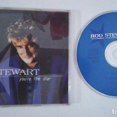 CDs de Música: ROD STEWART / YOU'RE THE STAR / SHOCK TO THE SYSTEM + 1 (CD SINGLE CAJA 1995). Lote 103145131