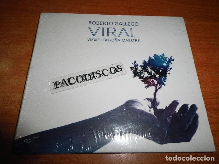 ROBERTO GALLEGO & VIKXIE & BEGOÑA MAESTRE VIRAL CD ALBUM DIGIPACK PRECINTADO 2017 10 TEMAS (Música - CD's Rock)