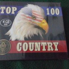 CDs de Música: TOP 100 COUNTRY 4 CD NUEVO PRECINTADO. Lote 103158982
