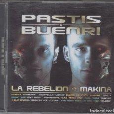 CDs de Música: PASTIS & BUENRI DOBLE CD LA REBELIÓN DE LA MÁKINA 2003 DIVUCSA. Lote 103170419