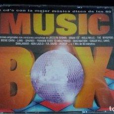 CDs de Música: MUSIC BOX 4 CD´S MUSICA DISCO DE LOS 80. Lote 103182119