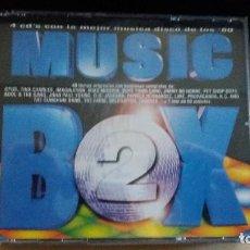 CDs de Música: MUSIC BOX 2 4 CD´S CON MUSICA DISCO DE LOS 80. Lote 103182303