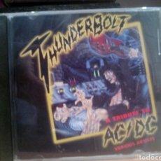 CDs de Música: THUNDERBOLT A TRIBUTE TO AC/DC. Lote 103187942