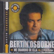 CDs de Música: BERTÍN OSBORNE CD ME ENAMORO DE ELLA Y OTROS ÉXITOS 2002 SERIE DIFUSIÓN. Lote 103240435
