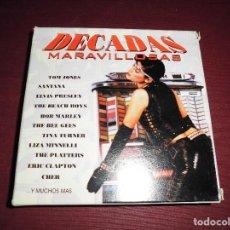 CDs de Música: MAGNIFICA CAJA CON 10 CD,S DECADAS MARAVILLOSAS. Lote 103246671