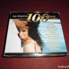 CDs de Música: MAGNIFICO CD,S LAS MEJORES 100 BALADAS EN ESPAÑOL 4 CD,S. Lote 103246831