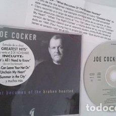 CDs de Música: JOE COCKER / WHAT BECOMES OF THE BROKEN HEARTED (CD SINGLE CAJA 1998). Lote 103291275