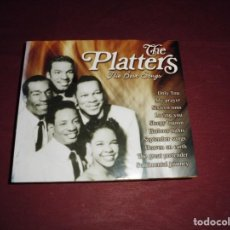 CDs de Música: MAGNIFICO CAJA CON 2 CD,S THE PLATTERS THE BEST SONGS. Lote 103313451