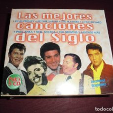 CDs de Música: MAGNIFICO CAJA CON 5 CD,S LAS MEJORES CANCIONES DEL SIGLO,CAJA PRECINTADA. Lote 103314103