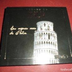 CDs de Música: MAGNIFICA CAJA CON DOS CD.S,NOCHES DE ITALIA,LAS MEJORES VOCES DE ITALIA. Lote 103335107