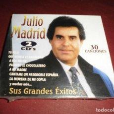 CDs de Música: MAGNIFICA CAJA CON 2CD,S JULIO MADRID SUS GRANDES EXITOS,CAJA PRECINTADA. Lote 103335455