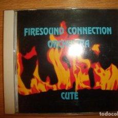 CDs de Música: CD FIRESOUND CONNECTION ORCHESTRA - CUTE (SWITZERLAND, 1996). Lote 103344907