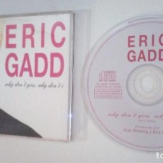CDs de Música: ERIC GADD / WHY DON´T YOU, WHY DON´T I (CD SINGLE 1995). Lote 103348087