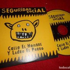 CDs de Música: SEGURIDAD SOCIAL CALLE EL HOMBRE Y LADRE EL PERRO CD SINGLE 1998 PROMO ALEMANIA. Lote 103380995