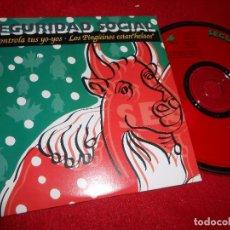 CDs de Música: SEGURIDAD SOCIAL CONTROLA TUS YO-YOS/LOS PINGÜINOS ESTAN HELAOS CD SINGLE 1995 PROMO ALEMANIA. Lote 103381135