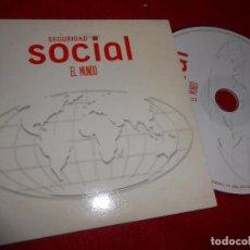 CDs de Música: SEGURIDAD SOCIAL EL MUNDO CD SINGLE 2005 PROMO. Lote 103381215