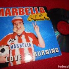 CDs de Música: MARBELLA MIX RADIO MIX (DJ CAIMAN) CD SINGLE 1996 PROMO. Lote 103381899