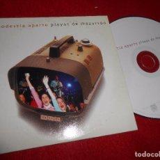 CDs de Música: MODESTIA APARTE PLAYAS DE MAZARRON CD SINGLE 2003 PROMO. Lote 103382295