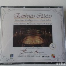 CDs de Música: EMBRUJO CLASICO 1997 2 CDS FALLA.ALBENIZ. GRANADOS,TURINA.RODRIGO. ETC.. Lote 103384043