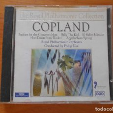 CDs de Música: CD ROYAL PHILHARMONIC ORCHESTRA: COPLAND: FANFARE FOR THE COMMON MAN - BILLY THE KID... (3T). Lote 103387979
