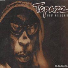 CDs de Musique: TOPAZZ / NEW MILLENIUM - 5 VERSIONES- CD SINGLE BLANCO Y NEGRO MUSIC DE 1999 / RF-33. Lote 103460759