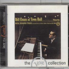 CDs de Música: BILL EVANS TRIO. BILL EVANS AT TOWN HALL. JAZZ. Lote 103463435
