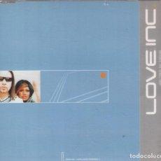 CDs de Música: LOVE INC- HERE COMES THE SUNSHINE, 4 VERSIONES- CD SINGLE VALE MUSIC DE 2000,RF-60 BUEN ESTADO. Lote 103482627