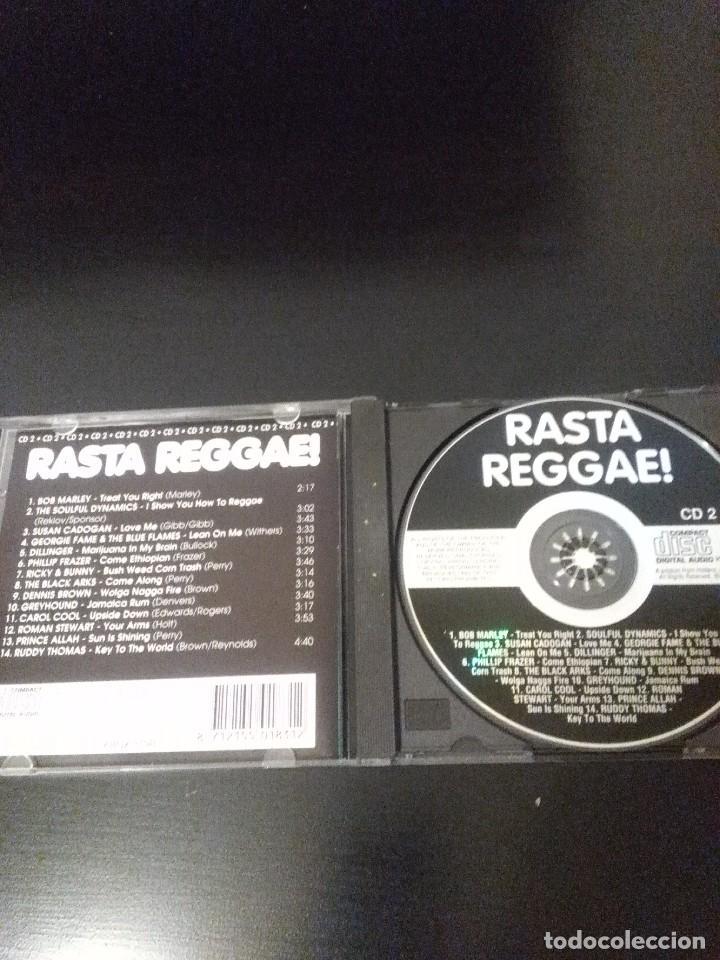 CDs de Música: CD RASTA REGGAE CD2 ( bob marley +varios ) - Foto 2 - 103503723