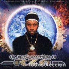 CDs de Música: RZA THE WORLD ACCORDING TO RAZ. Lote 103505163