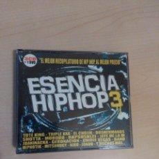 CDs de Música: CD ESENCIA HIP HOP 3 ( 3CDS +DVD ) . Lote 103508019