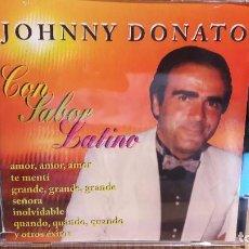 CDs de Música: JOHNNY DONATO / CON SABOR LATINO / CD / DINDI RECORDS. 10 TEMAS / LUJO.. Lote 103508551