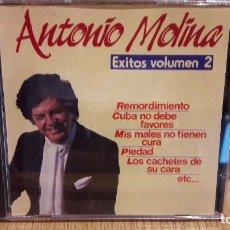 CDs de Música: ANTONIO MOLINA / ÉXITOS - VOLUMEN 2 / CD / DOBLON. 8 TEMAS / CALIDAD LUJO.. Lote 103508959