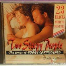 CDs de Música - Two Sleepy People - The Songs of Hoagy Carmichael - CD - Swing - 103511667