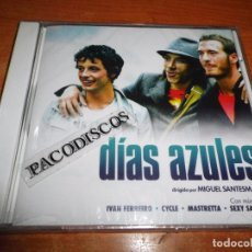 CDs de Música: DIAS AZULES BANDA SONORA CD PRECINTADO 2006 MASTRETTA SEXY SADIE IVAN FERREIRO CYCLE LONELY JOE. Lote 103522531