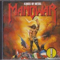CDs de Música: MANOWAR - KINGS OF METAL - ATLANTIC 1988. Lote 103541083