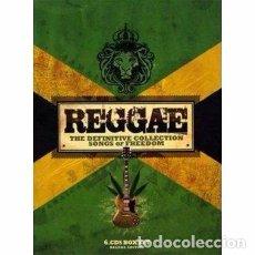 CDs de Música: REGGAE - THE DEFINITIVE COLLECTION 6CD -BOX SET - 90 TEMAS GENIAL PRESENTACION - NUEVO. Lote 103581367