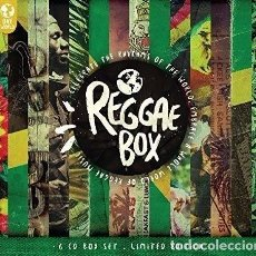 CDs de Música: REGGAE BOX (LIMITED EDITION) (6CD) BOX SET CUIDADA CAJA CON DIGIPACK - NUEVO. Lote 103582139