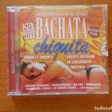 CDs de Música: CD BACHATA - CHIQUITA (3X). Lote 103586395