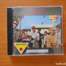 CDs de Música: CD AC/DC (AC DC) - DIRTY DEEDS DONE DIRT CHEAP (3X). Lote 103586503