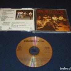 CDs de Música: GRALLERS DE L'ACORD - TRM 0033-CD - TRAM - ELS BASTONS QUE ES BALLEN - LA MASCARA - GALOPERA .... Lote 103591399