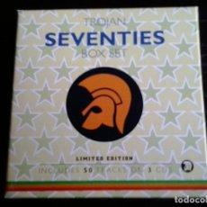 CDs de Música: TROJAN BOX SET SEVENTIES - 3 CDS. Lote 103596771