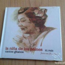 CDs de Música: LA NIÑA DE LOS PEINES - CANTES GITANOS - JOYAS DEL FLAMENCO - CD LIBRO- EDICIÓN EL PAIS - 2008. Lote 103606743