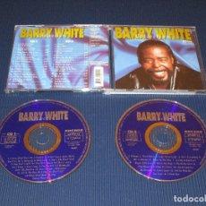 CDs de Música: BARRY WHITE COLLECTION - 2 CD - 32 000 52 - ARCADE - RIO DE JANEIRO - I BELIEVE IN LOVE - DREAMS .... Lote 103619399