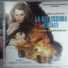 CDs de Música: LA BELLISSIMA ESTATE - ALBERTO POMERANZ - PRECINTADO - CD BSO / OST / BANDA SONORA / SOUNDTRACK. Lote 103631955
