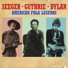 CDs de Música: AMERICAN FOLK LEGENDS * BOX 3CD DIGIPACK * SEEGER * GUTHRIE * DYLAN * PRECINTADO!!. Lote 104850742