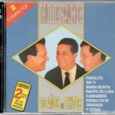 CDs de Música: TRÍO LOS PANCHOS DOBLE CD 50 AÑOS DE ÉXITOS 1998. Lote 103696215