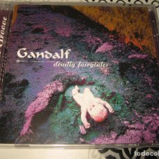 CDs de Música: CD GANDALF DEADLY FAIRGTATES. Lote 103699607