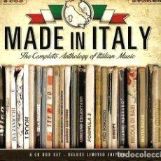 CDs de Música: CAJA 6 CD´S : MADE IN ITALY : MINA, DRUPI, I POOH, RALISMA, THE ROKES, HOMO SAPIENS, MATIA BAZAR, . Lote 103702755