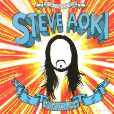 CDs de Música: STEVE AOKI - WONDERLAND - CD ALBUM - 13 TRACKS - ULTRA RECORDS 2012. Lote 103760655